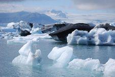 Free Glacial Lagoon Royalty Free Stock Photo - 15681505