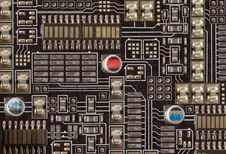 Free Microelectronics Royalty Free Stock Photography - 15682337