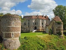 Free Castle In Normandy France Royalty Free Stock Image - 15682386