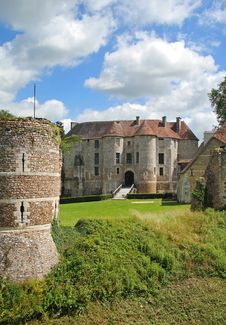 Free Chateau In Normandy France Royalty Free Stock Photos - 15682428