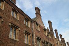 Houses In Cambridge Stock Image