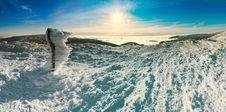 Free Snow Mountain Sunshine Stock Photo - 15683570