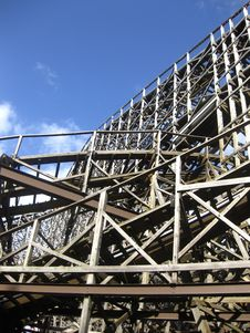 Free Wooden Coaster Royalty Free Stock Images - 15684519