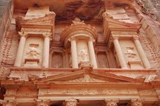 Free Part Of Petra Temple Stock Photos - 15685223