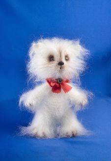 Free Soft Toy Cat Royalty Free Stock Photography - 15685497