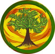 Free Tree Logo Royalty Free Stock Images - 15686389