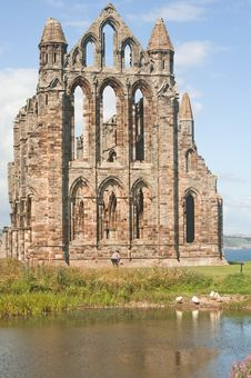 Free Whitby Abbey. Royalty Free Stock Photo - 15686765