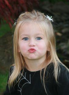 Free Kissy Face Stock Photo - 15686810