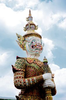 Free The Giant Statue In Grand Palace, Bangkok Thailand Stock Image - 15688681