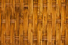 Free Thai Style Bamboo House Wall Royalty Free Stock Photos - 15688858