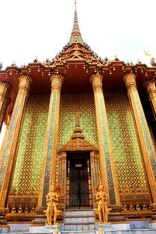 Free Grand Palace In Bangkok, Thailand Stock Photography - 15688922