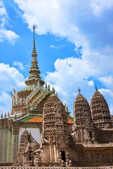 Free Grand Palace In Bangkok, Thailand Royalty Free Stock Photography - 15688937