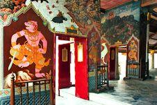 Free Grand Palace In Bangkok, Thailand Royalty Free Stock Photography - 15688977