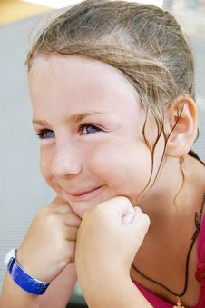 Free Smiling Girl Stock Image - 15689111