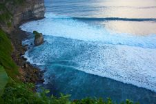 Free Precipice Near Uluwatu Temple Royalty Free Stock Images - 15689939