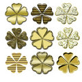 Free Shamrock Gold  Icon Royalty Free Stock Photo - 15692225