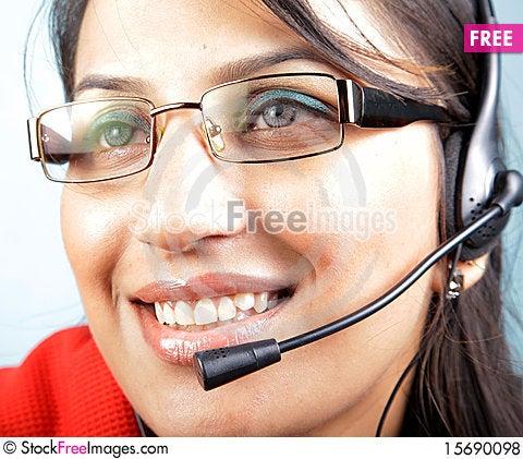 Free Call Center Royalty Free Stock Photos - 15690098