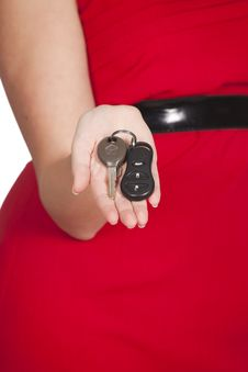 Free Car Keys Stock Photography - 15690262