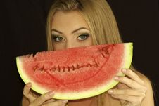 Free Ripe Watermelon Stock Photography - 15690402