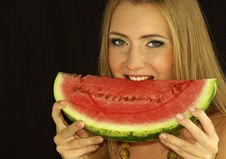 Free Ripe Watermelon Stock Images - 15690504