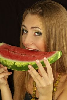 Free Ripe Watermelon Stock Photography - 15690552