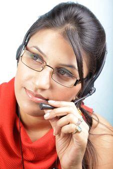 Free Headphone Girl Stock Photos - 15690863