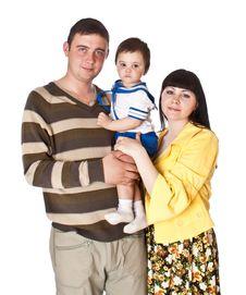 Free Portrait Of Happy Family Stock Photography - 15691372