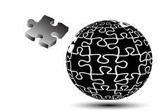 Free Globe Puzzle Royalty Free Stock Image - 15691606