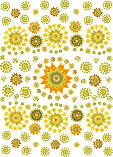 Free Flower Ethnic Background2 Royalty Free Stock Image - 15691666