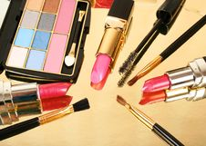 Free Decorative Cosmetics Royalty Free Stock Image - 15691846