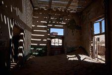 Free Town Kolmanskop In Namibia Stock Images - 15691934