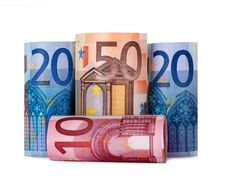 Free Rolled Up Hundred Euro Royalty Free Stock Photo - 15691955