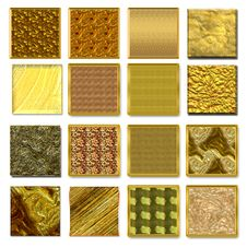 Free Symbols Gold Styles Royalty Free Stock Photos - 15692078