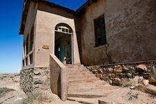 Free Town Kolmanskop In Namibia Stock Image - 15692101