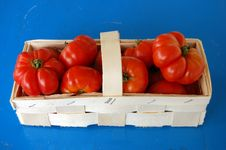 Free Tomatoes In Basket Stock Photography - 15692712