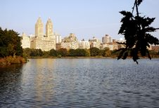 Free Pond In New York Royalty Free Stock Photos - 15693098