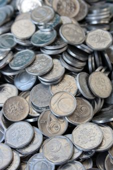 Free Czech Coins Royalty Free Stock Image - 15693126
