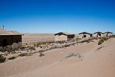 Free Town Kolmanskop In Namibia Royalty Free Stock Photography - 15693847