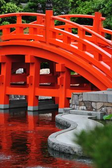 Free Nan Lian Garden Bridge Royalty Free Stock Photography - 15694817