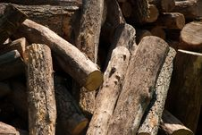 Free Firewood Royalty Free Stock Image - 15695406