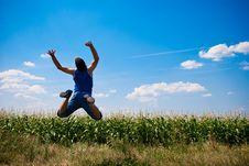 Free Man Jumping Stock Photography - 15695442