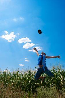 Free Man Jumping Stock Images - 15695484