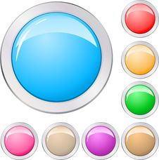 Free Buttons Stock Image - 15695591