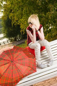 Free Girl At The Park Royalty Free Stock Image - 15695666