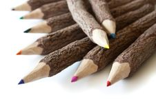 Free Colored Pencils Stock Photography - 15696502