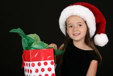 Free Christmas Girl Royalty Free Stock Images - 15696589