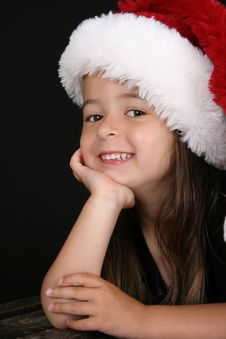 Free Christmas Girl Royalty Free Stock Images - 15696599
