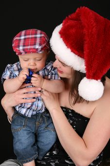 Free Christmas Family Royalty Free Stock Image - 15696606