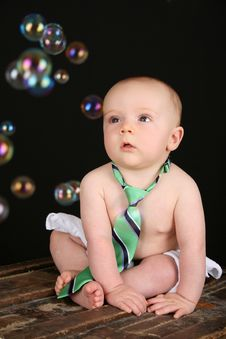 Free Baby Bubbles Royalty Free Stock Photography - 15696657