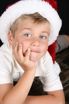 Free Christmas Boy Royalty Free Stock Photography - 15696717